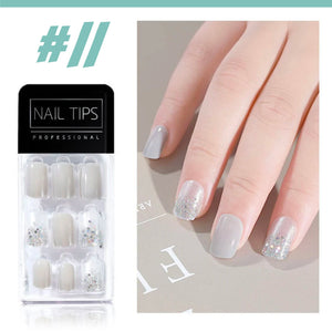 No Glue Stick-On Nail Beauty & Health summertwinkle #011