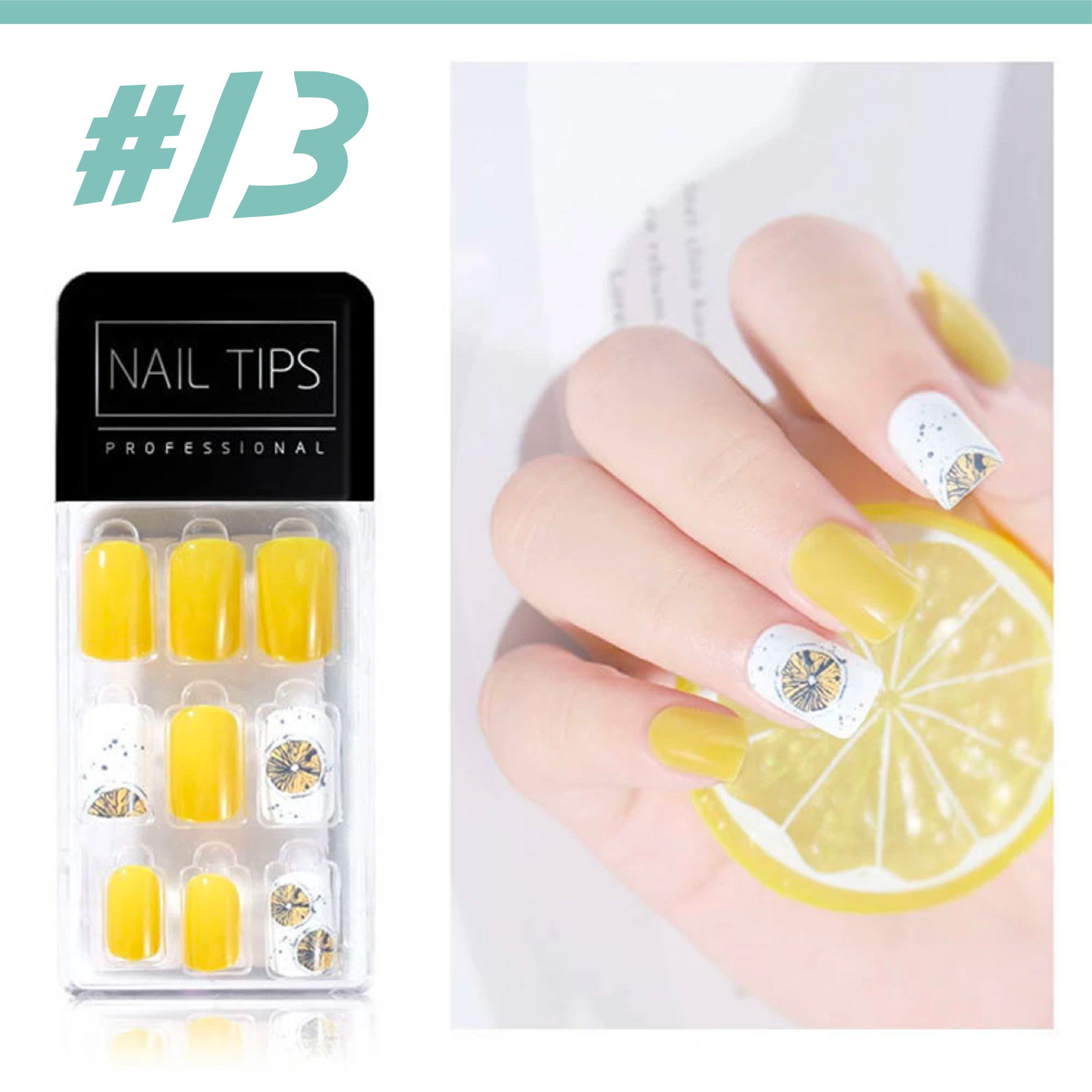 No Glue Stick-On Nail Beauty & Health summertwinkle #013