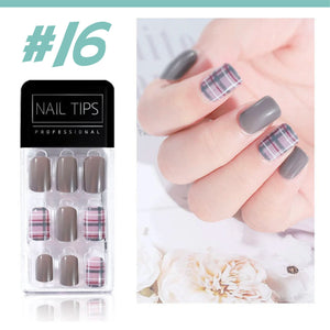 No Glue Stick-On Nail Beauty & Health summertwinkle #016