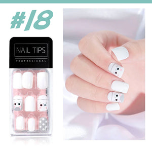 No Glue Stick-On Nail Beauty & Health summertwinkle #018