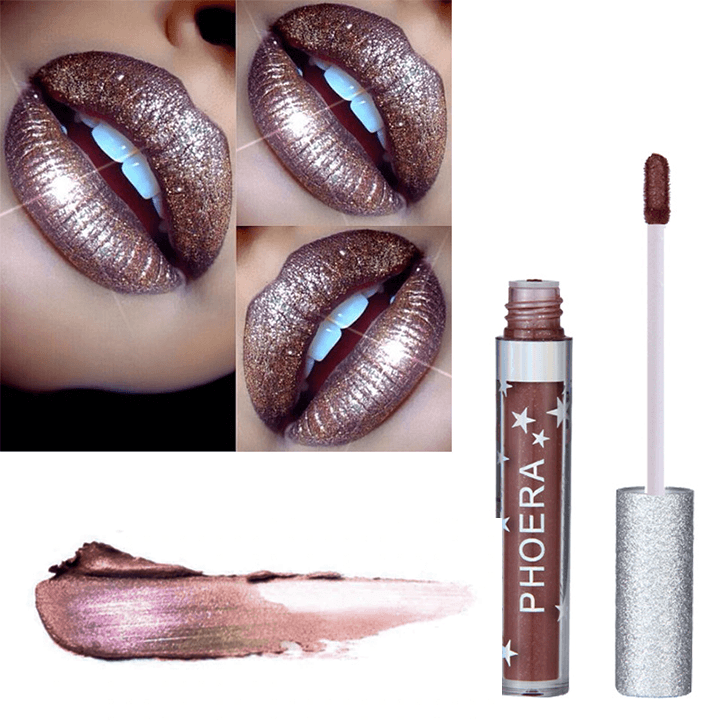 Metallic Glitter Lip Gloss summertwinkle 109