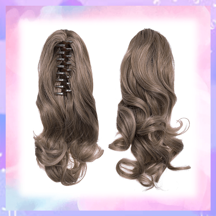 Clip-in Wavy Ponytail summertwinkle light brown