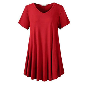 Loose fit Dress T-shirt summertwinkle red S