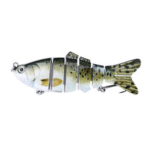 6 Section Realistic Fishing Bait Gadgets summertwinkle 5