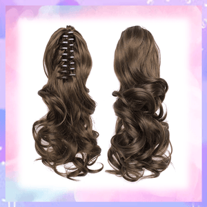 Clip-in Wavy Ponytail summertwinkle brown