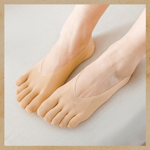 Five Toes Breathable Socks summertwinkle nude 1pair