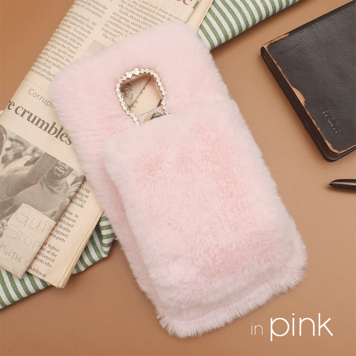 Furry Hand Warmer Phone Case summertwinkle