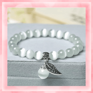 Tiger's Eye Bracelet summertwinkle white