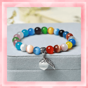 Tiger's Eye Bracelet summertwinkle rainbow