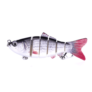 6 Section Realistic Fishing Bait Gadgets summertwinkle 7