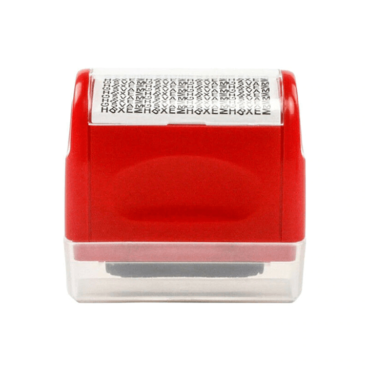 Privacy Protection Roller Stamp summertwinkle