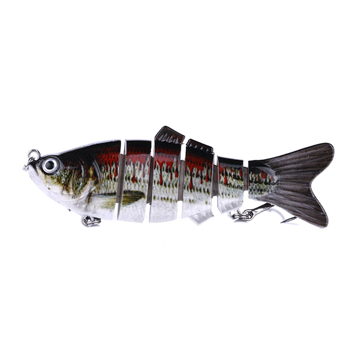 6 Section Realistic Fishing Bait Gadgets summertwinkle 8