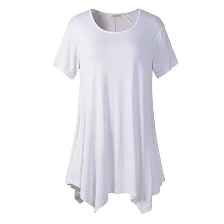 Loose fit Dress T-shirt summertwinkle white S