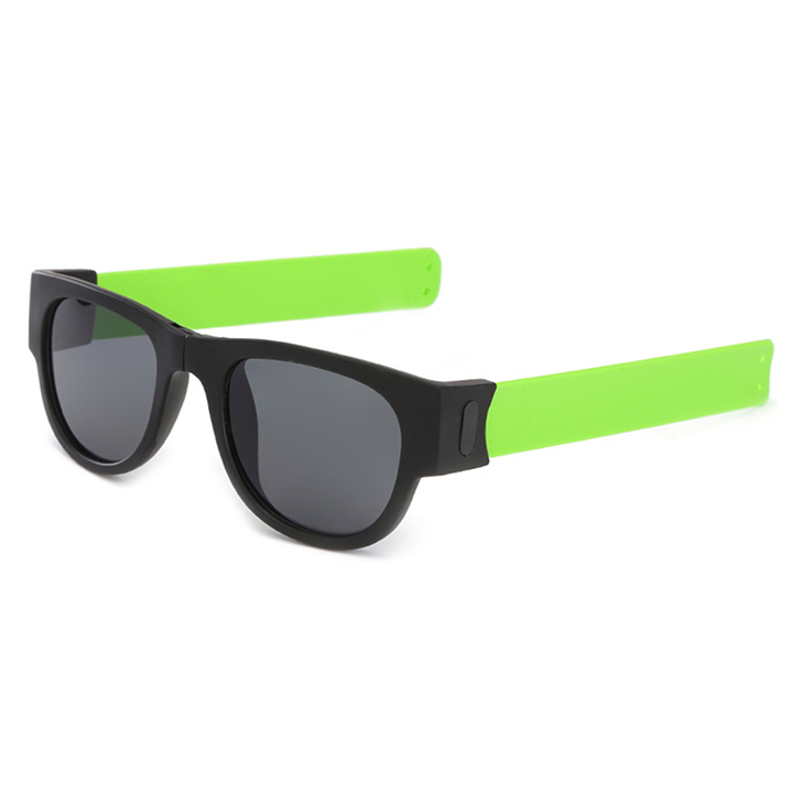 Foldable Wristband Sunglasses summertwinkle green