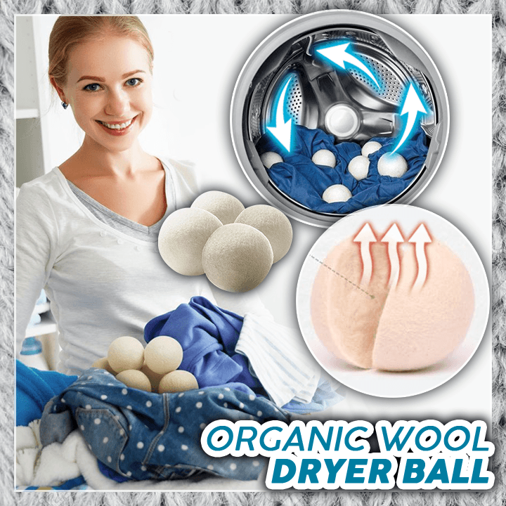 Organic Wool Dryer Ball