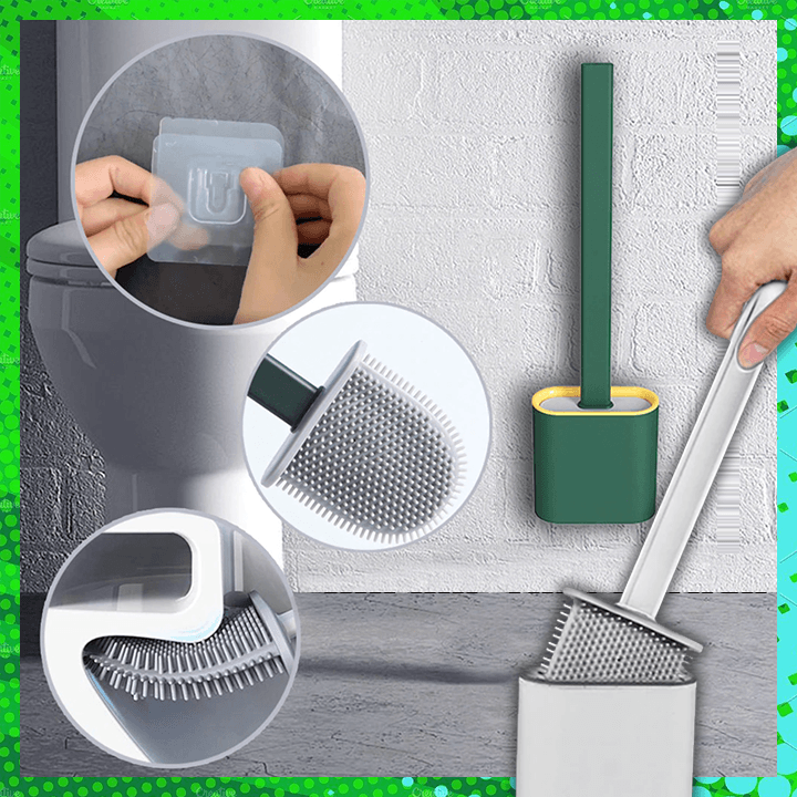 Silicone Flex Toilet Brush summertwinkle