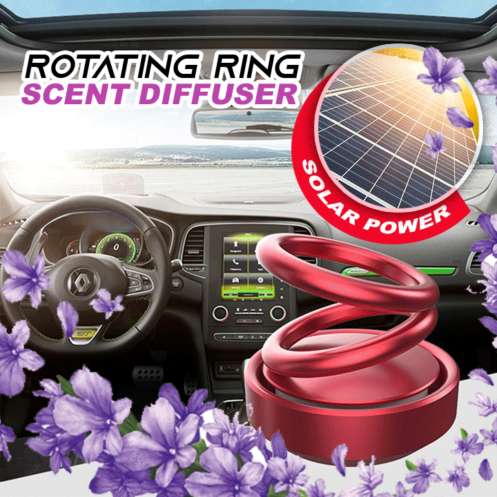Solar Power Rotating Ring Scent Diffuser summertwinkle