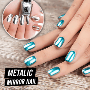 Metallic Mirror Nail Polish summertwinkle
