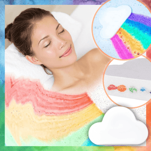 Rainbow Bath Bomb summertwinkle