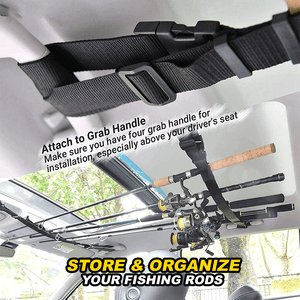 Car Fishing Rod Holder Straps (2pcs) summertwinkle