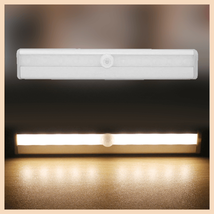 LED Motion Sensor Closet Light summertwinkle warm light