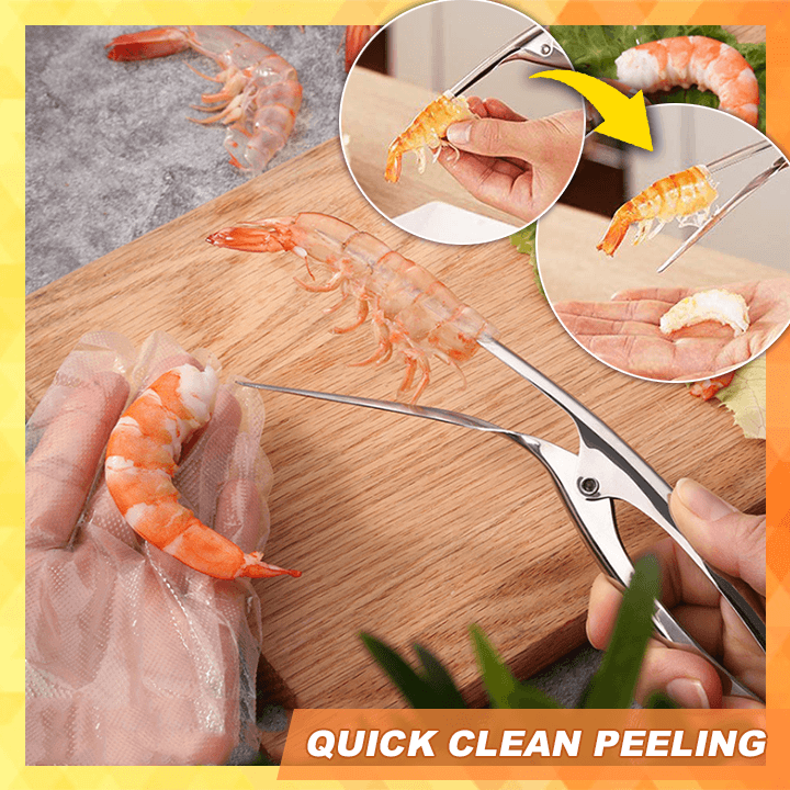 Stainless Steel Prawn Peeler summertwinkle