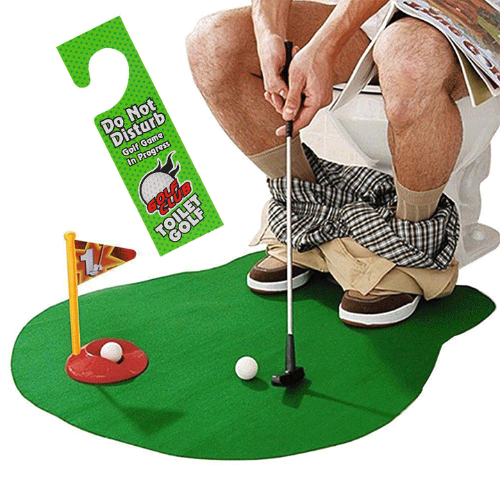 Potty Putter Toilet Golf summertwinkle