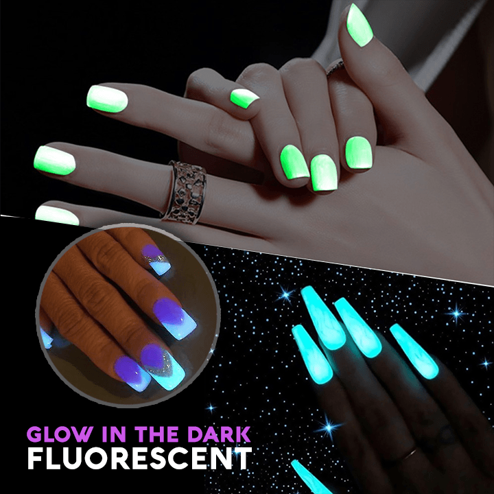 Fluorescent Nail Polish summertwinkle