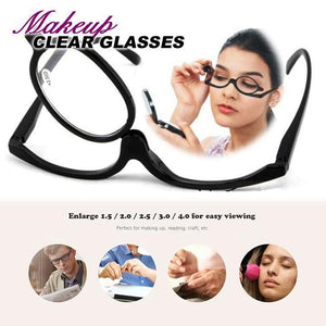 Rotation Makeup Clear Glasses summertwinkle
