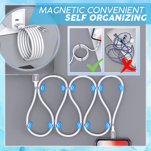Self Organize Magnet USB Cable summertwinkle