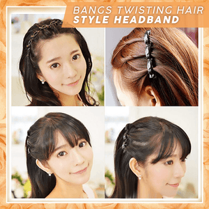 Bangs Clipping Headband summertwinkle