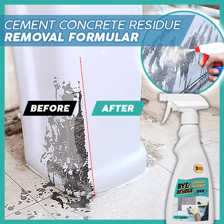Cement Concrete Residue Remover Spray summertwinkle