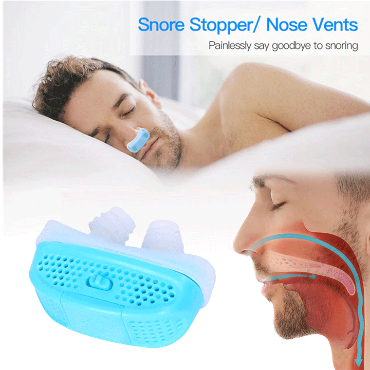 Electronic Anti-Snoring Aid summertwinkle