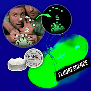 Fluorescence Putty Slime summertwinkle