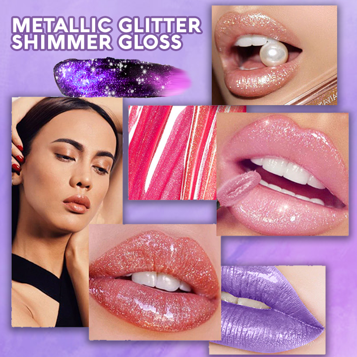 Metallic Glitter Lip Gloss summertwinkle