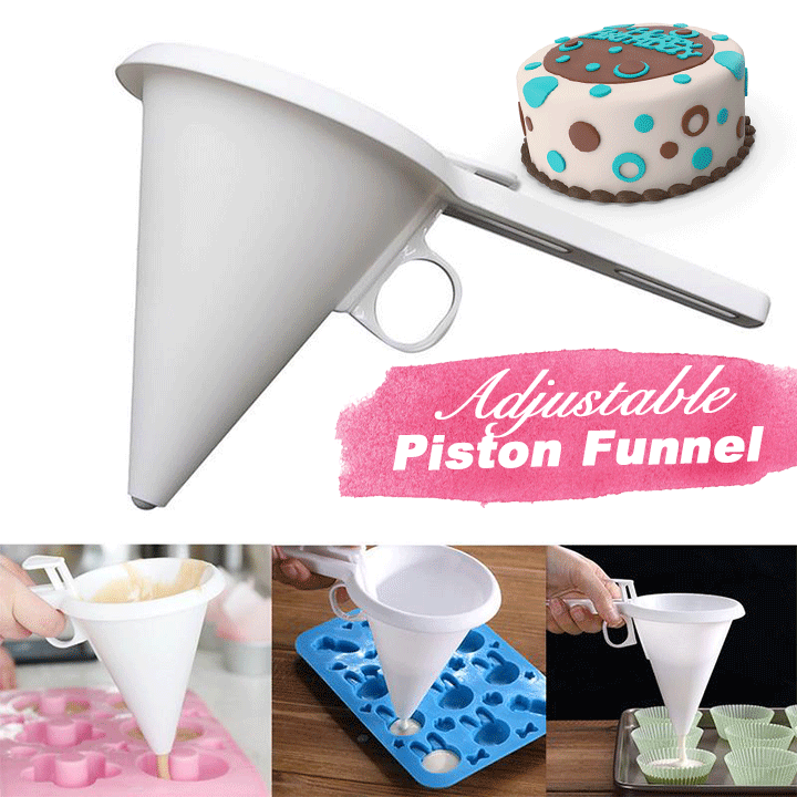 Adjustable Baking Icing Funnel summertwinkle