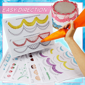 Cake Icing Practice Boards (pack of 14pcs) summertwinkle