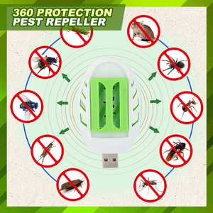 USB Mosquito Repellent Set (Heater+Slices) summertwinkle