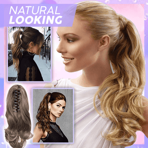 Clip-in Wavy Ponytail summertwinkle