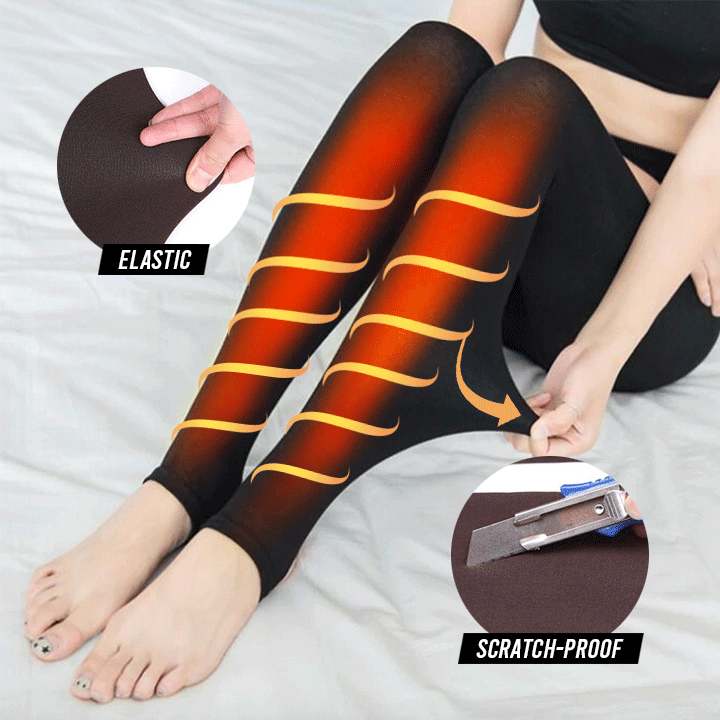 Winter Warm High-waist Leggings summertwinkle