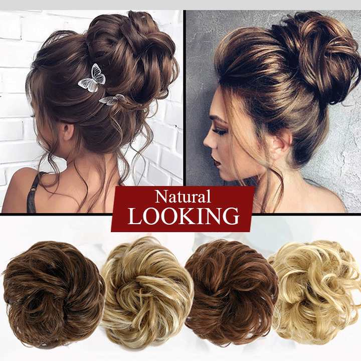 Messy Bun Hair Extension summertwinkle