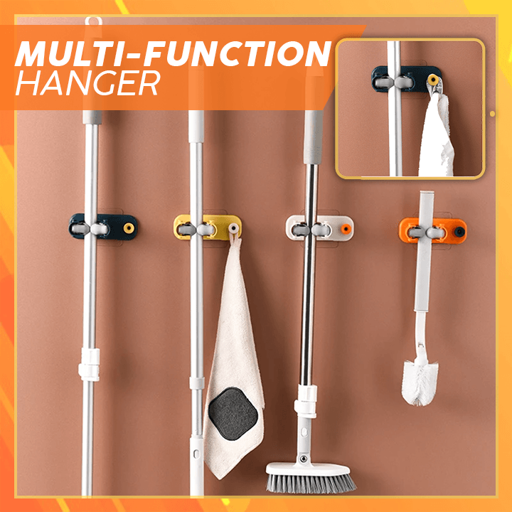 Multi-functional Broom Holder summertwinkle