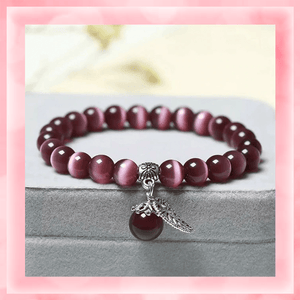 Tiger's Eye Bracelet summertwinkle purple