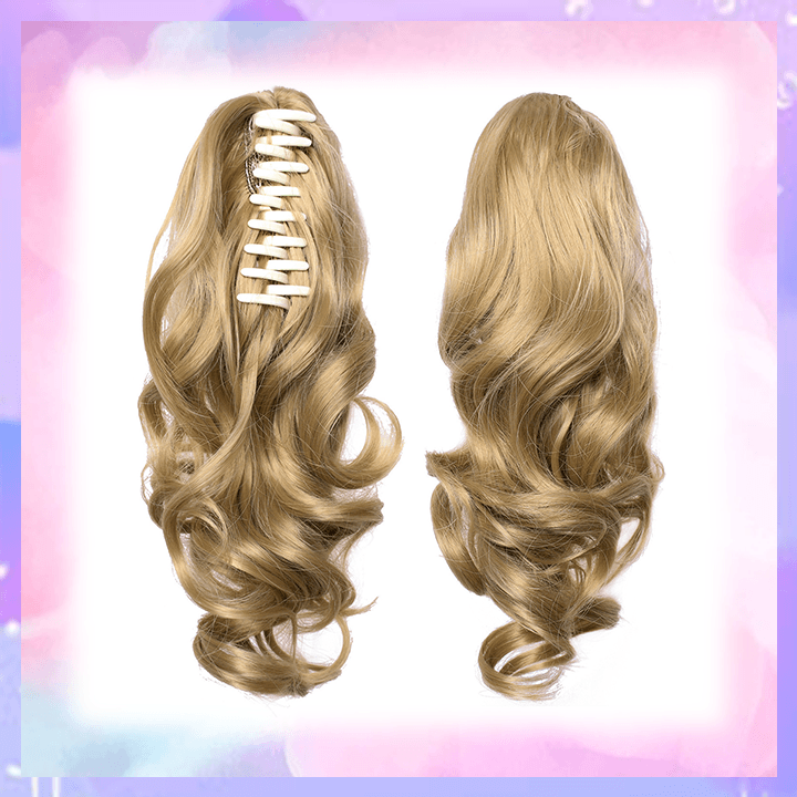 Clip-in Wavy Ponytail summertwinkle blonde