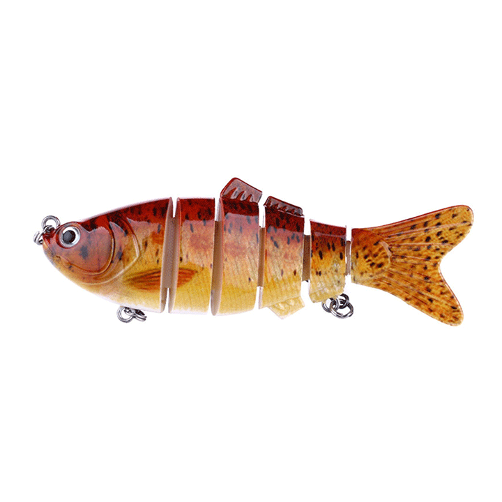 6 Section Realistic Fishing Bait Gadgets summertwinkle 2