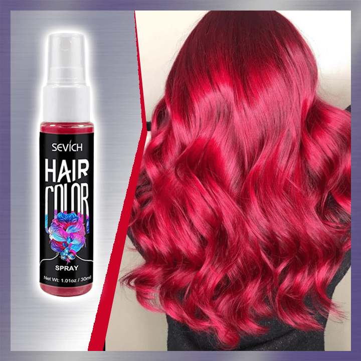 Spray-on Hair Color summertwinkle red