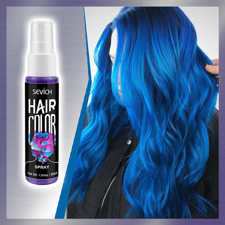 Spray-on Hair Color summertwinkle blue
