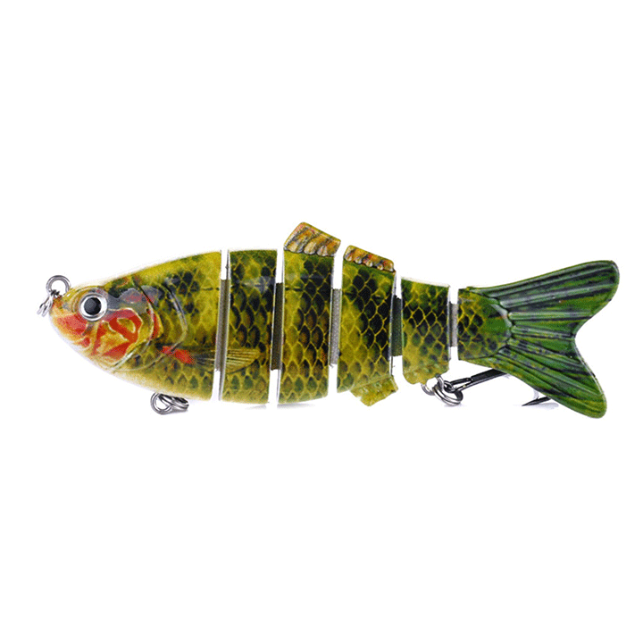 6 Section Realistic Fishing Bait Gadgets summertwinkle 3