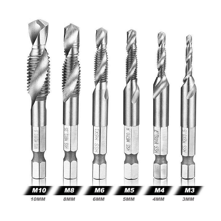 Thread Tap Drill Bits Set summertwinkle