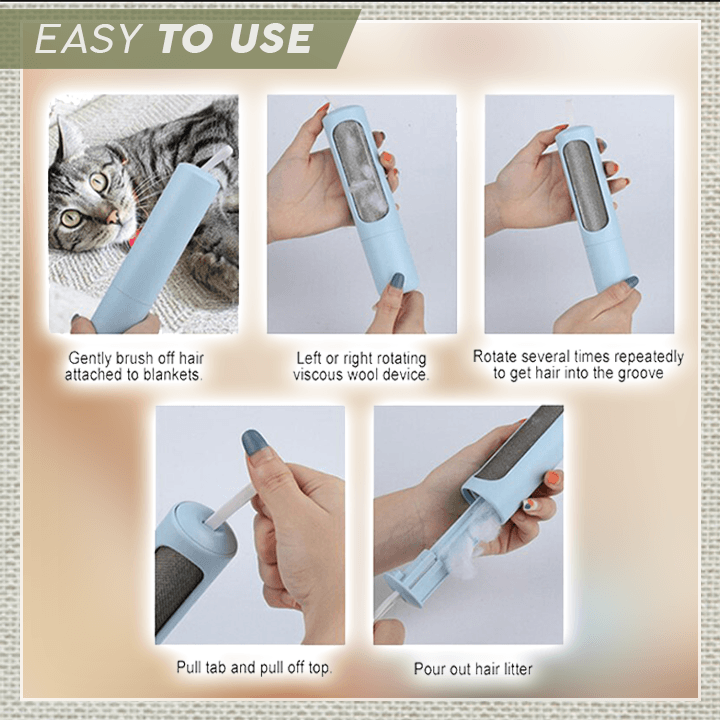 Power-Free Clothes Lint Remover